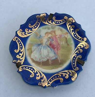 Limoge France - Miniature Plate on stand