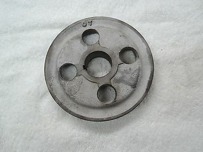 Porsche 356 Original  OT Crankshaft Pulley , 4 Holes