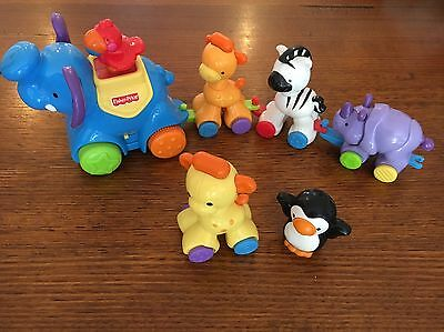 Fisher Price Pull Along Animals