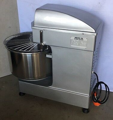 Commercial  50L Spiral Dough  Mixer 2 speed 3 phase  BAKERY , PIZZA
