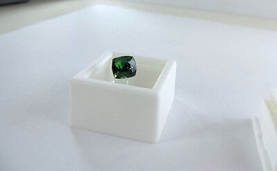 "2.45ct HIMALAYA MINE CHROME COLORED INDICOLITE TOURMALINE CUT BY ME :) ""VVS"""