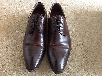 Florsheim Mens Pullman Brown Shoes Size 42Ee, 8Uk, 9Us