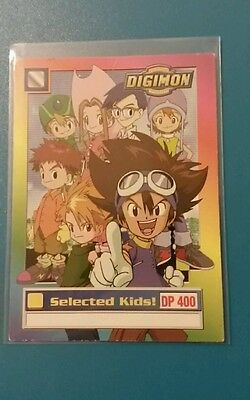 Selected kids! Digimon animated series card