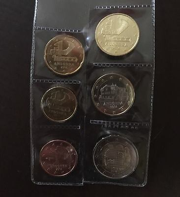 euros andorre 2014 2€ a 5cts