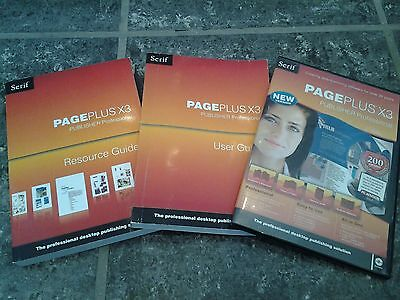 Serif PagePlus X3 publisher software