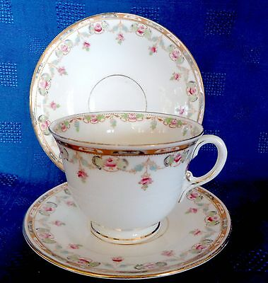 Vintage Duchess China Trio Teacup Saucer Tea Plate Lovely Old China