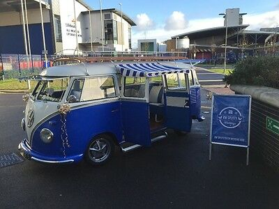 VW Splitscreen genuine U.K. SPEC 15 window deluxe
