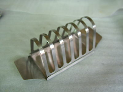 Stainless Steel Foreign 7 Bar TOAST RACK 7.6x2.9in176gms