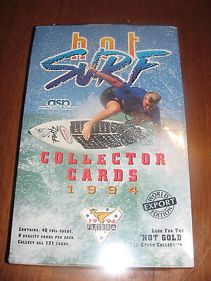 ✦1994 Futera Hot Surf World Export Ed.Kelly Slater Shaun Tomson Pam Burridge  ✦