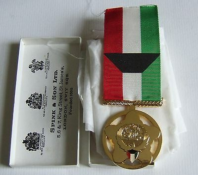 Arab Gulf War Kingdom Of Kuwait Liberation Full Size Medal By Spink Of London