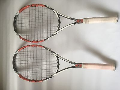 2 x Wilson K Factor six.one 95 Tennis Rackets