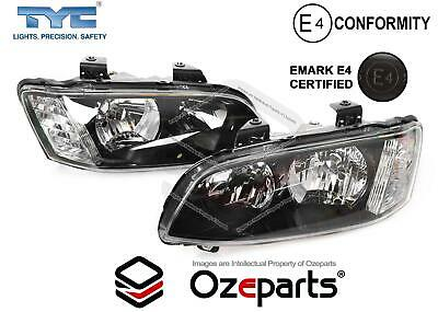 Holden Commodore VE Series 2 Head Light Lamp PAIR LH+RH SS SV6 10~13 Halogen