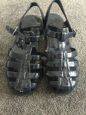 Zara Girls Jellie Bean Shoes Size 1