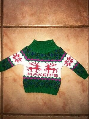 MAKERS MARK  Winter Bottle Sweater