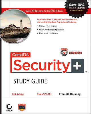 CompTIA Security+ Study Guide: (Exam# SY0-301) by Emmett Dulaney (Paperback, 20…
