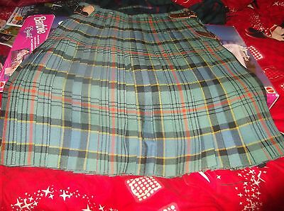 Kilt All Wool Jacket  Belt Buckle Sporran Glengarry  Ogilvie Tartan