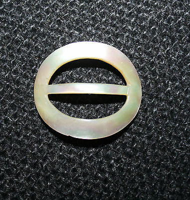 Vintage Shell /Mother of Pearl Oval Buckle 35 mm