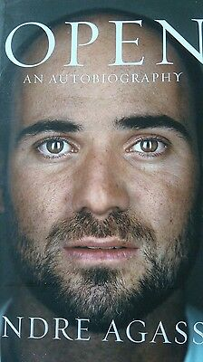 tennis Andre Agassi Autobiography... Signed by Andre Agassi