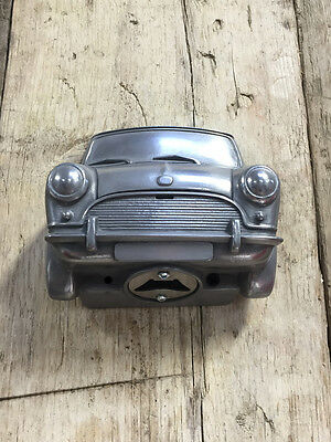 Vintage Mini Wall Mounted Coca Cola Beer Bottle Opener Classic Rover Cooper S