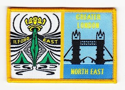 UK Scout District Badge ILFORD EAST DISTRICT