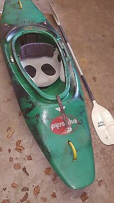 inazone 220 kayak and paddle