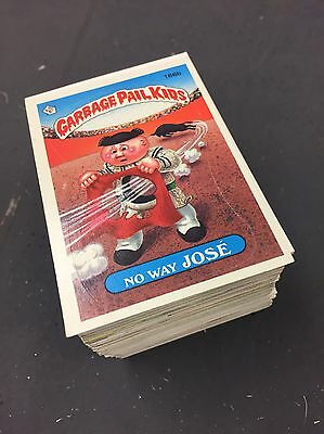 Garbage Pail Kids Stickers Bubble Gum 1985 1986 Topps