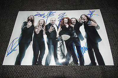 EPICA signed 8x12 inch autograph Photo InPerson 2017 in Berlin LOOK