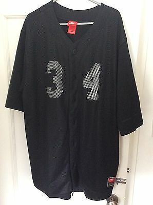 Nike Baseball jersey Black xl