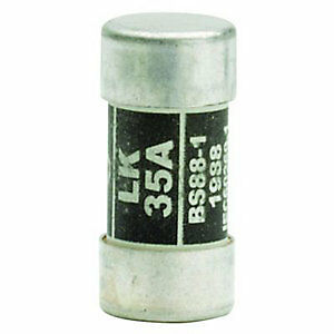 Wylex Consumer Unit Replacement Fuse 35 Amp ( black LAWSON 35A CFL35 )