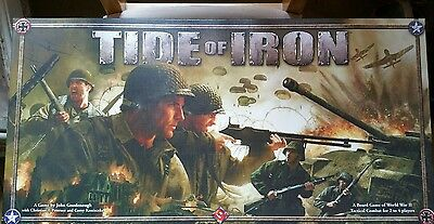 Tide of Iron Tactical Combat WWII Game Fantasy Flight Games