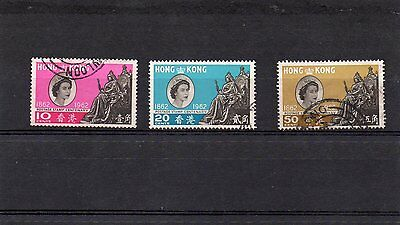Hong Kong 1962 Postage Stamps Centenary, QE2  Fine Used