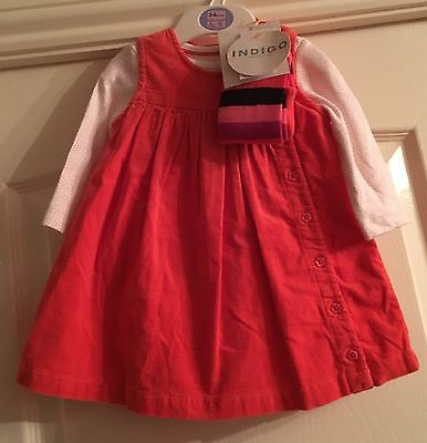 Bnwt M&S Girls Three Piece Outfit Age 3-6 Months