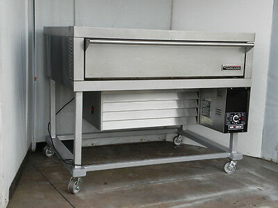 Deck convection pizza bread oven gas model G56PB clean Garland Air Deck