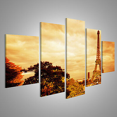 bild auf leinwand eiffelturm v6 paris 4er xxl poster leinwandbild wandbild eur 34 90 picclick de. Black Bedroom Furniture Sets. Home Design Ideas