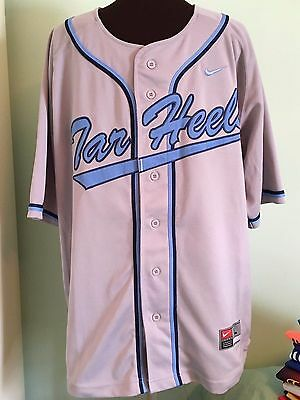 Official North Carolina Tar Heels Baseball Shirt By Nike Size Adult Large