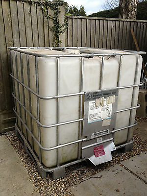 1000 Litre IBC Containers / IBC Water Storage Tank
