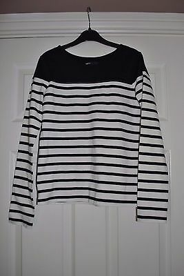 Girls Navy Blue Striped Top From Gap Size Xl 12 Yrs
