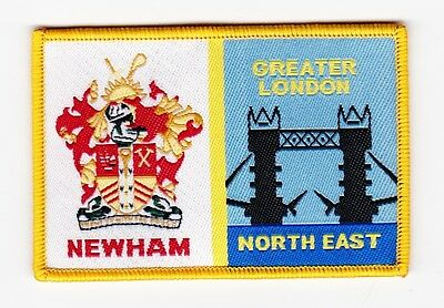 UK Scout District Badge NEWHAM DISTRICT  Variety 2