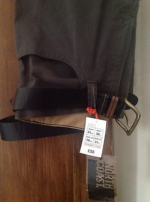 "Marks & Spencers Mens Trousers 32"" Waist"