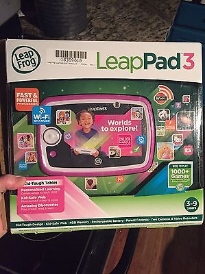 Leap Pad 3 Pink Used