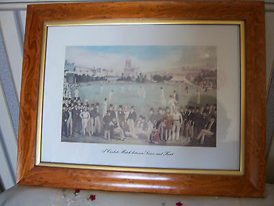 'The Cricket Match, between Sussex and Kent at Brighton'