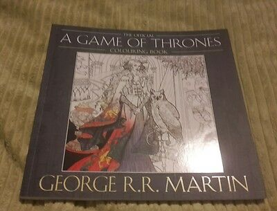 The Official A Game of Thrones Colouring Book by George R. R. Martin (Paperback…