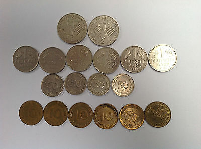 Germany Deutch Marks Pre-Euro Coins Lot, Collector