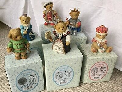 Boxed Cherished Teddies selection Kings and Queens
