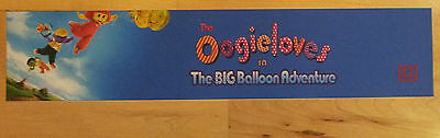 Oogieloves,Big Ballon Adventure,Large (5X25) Movie Theater Mylar Banner/Poster