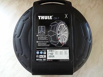 THULE KONIG SNOW CHAINS CK-7 - Size 102 NEW