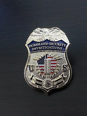 DHS HSI ERO ICE CBP BP FBI NYPD IMMIGRATION CUSTOMS 9 11 POLICE LAPEL Badge PIN