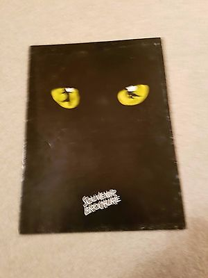 CATS The Musical - London Show Brochure (1992 Cast)
