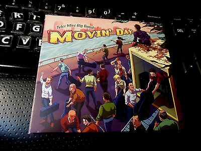 Movin' Day [Digipak] by Tyler Mire Big Band (CD, Jun-2015, Armored Records) jazz