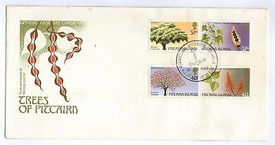 Pitcairn Islands. 1987. Trees of Pitcairn FDC.